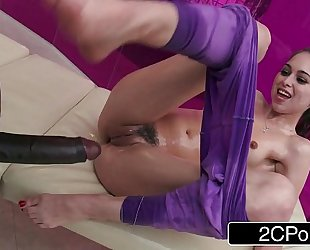 Teen riley reid's large dark weenie massage