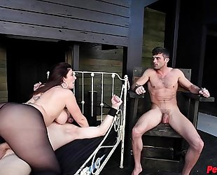 Sara jay has sex slaves alex adams and lance hart