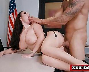 Parent fucking teacher meetings (angela white) clip-04