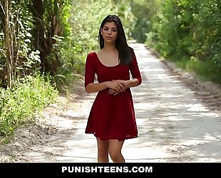 Punishteens - diminutive legal age teenager dominated and screwed hard