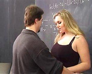 Hot blond screwed by her teacher