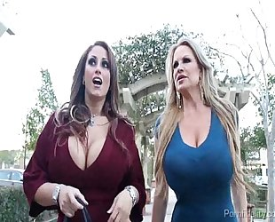 Big titty sluts having a wild night on the city