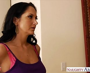 Horny mommy ava addams acquires large jugs drilled