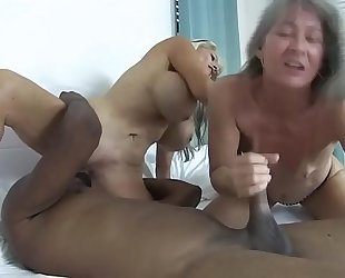 Two sluts and a bbc sally d'angelo leilani lei
