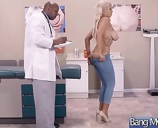 Patient (bridgette b) and doctor have a fun hard sex adventures vid-07