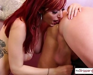 Lauren phillips undress down and give a worthy sloppy blow job