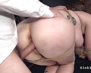Big wazoo redhead milf anal slavery screwed