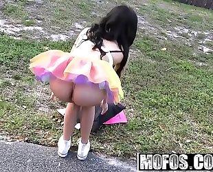 Mofos - stranded legal age teenagers - ebon raver acquires freaky in field starring maya bijou and tony rubino