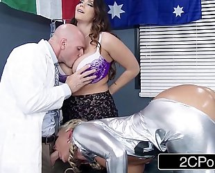 Ski hill medical duett likes to fuck patients - alison tyler, phoenix marie