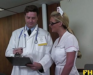 Fhuta - doctor giving phoenix marie a full anal scrutiny