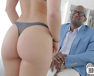 Sultry remy lacroix anal interracial sex by large dark cockcial sex