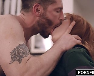 Pornfidelity redhead penny pax stays warm
