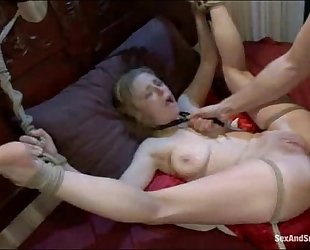 Ravished and aggressively a-hole screwed in slavery dream