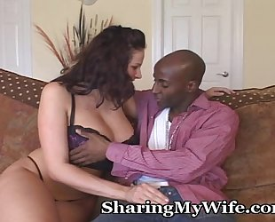 Wife goes black for fuck of a lifetime