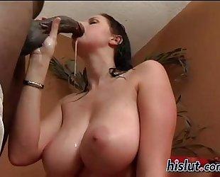 Gianna sucked away