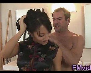 Hot shower with gorgeous asa akira