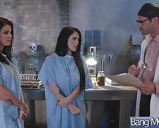 (noelle easton & peta jensen) bitch patient come and group sex with slutty doctor movie-20