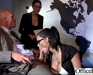 (peta jensen) breasty sexy slutwife hard gangbanged in office video-26