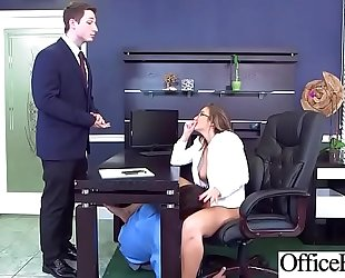 (layla london) breasty sexually excited wench office BBC slut have a fun sex movie-15