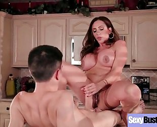 Slut slutty wife (ariella ferrera) with large round juggs love sex act mov-05