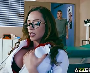 Milf dr ariella ferrera bangs with a hawt patient