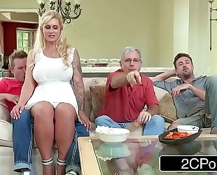 Curvy stepmom ryan conner takes her stepson's youthful dong