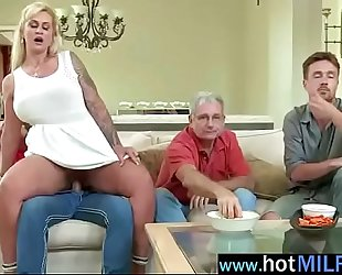 Horny milf (ryan conner) ride in front of webcam a large schlong guy vid-24