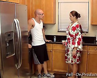 [taboo passions] son get's wicked with mama madisin lee in got to workout