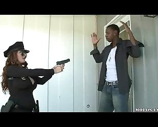 Police babes can't live without it dark!
