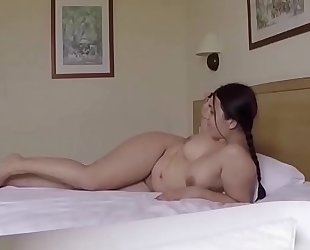 Taking pics of her feet and fucking her. san012