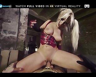 Badoink vr interrogation penetration for blondie fesser vr porn