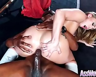 Anal hardcore group-sex with large arse lewd amateur wife (aj applegate) video-05