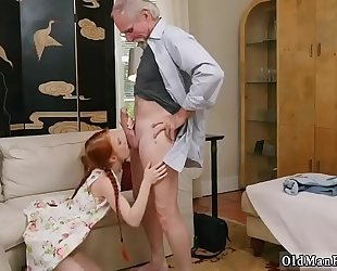 Old guy s and teacher copulates youthful student xxx for this discharge we got a