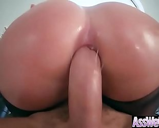 Hot oiled white women (brooklyn chase) with massive a-hole have a fun anal sex vid-14