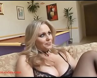 Blacksruinblondes.com blonde mama milf cogar cunt ruined by monster dark jock