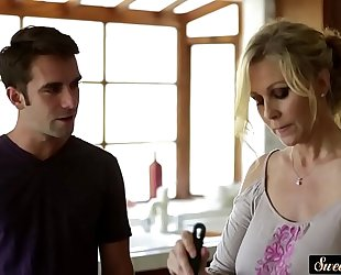 Busty milf screwed passionately by stepson