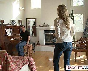 Milf in hawt jeans julia ann acquires nailed