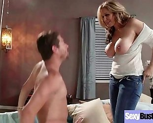 Naughty BBC slut (julia ann) with large juggs have a fun hard sex mov-16