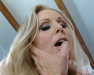 Horny julia ann fuck schlong