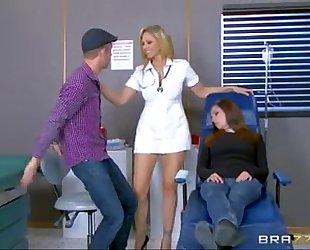 Julia ann is one sexy nurse