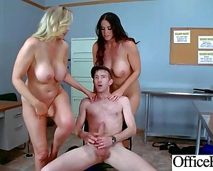 Sex in office with breasty bitch lewd black cock sluts (alison tyler & julia ann) vid-03