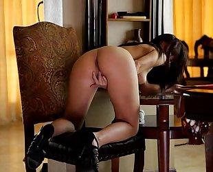 Aidra fox copulates her slit with a vibrator - eroticvideoshd.com