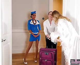 Twistys - a very hot stop over - (britney amber, katya rodriguez)
