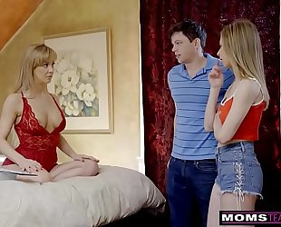 Momsteachsex - breasty milf gets hawt mother's day 3some! s8:e4