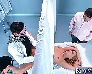 Sex adventures betwixt doctor and excited patient (cherie deville) video-10