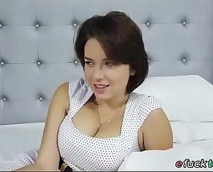 Busty russian marina visconti shows off her breasts