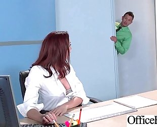 Sex scene in office with wench hawt breasty cheating wife (chanel preston) video-29
