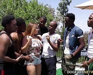Natasha worthy interracial group-sex sex