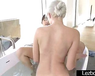 Young lez beauties (jenna sativa & naomi woods) play in front of camera mov-18