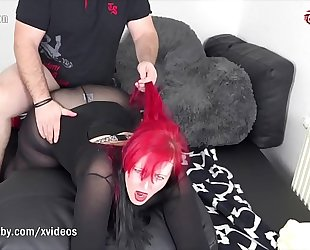 My indecent hobby - redhead bbw takes a large dong
